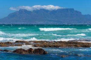 Cape Town, Table Mountain, Distant View by Catharina Lux