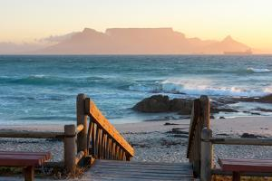 Cape Town, Table Mountain Seen from the Bloubergstrand by Catharina Lux