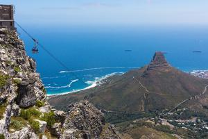 Capetown, Table Mountain, Cableway by Catharina Lux