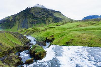 Cascades in the Skogaheidi