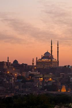Egypt, Cairo, Citadel and Mohamad Ali Mosque by Catharina Lux