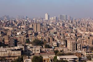 Egypt, Cairo, Citadel, View at the Islamic Old Town by Catharina Lux