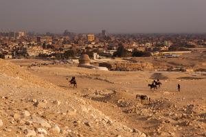 Egypt, Cairo, Giza, Evening Light by Catharina Lux
