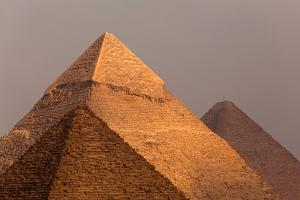Egypt, Cairo, Pyramids of Giza by Catharina Lux