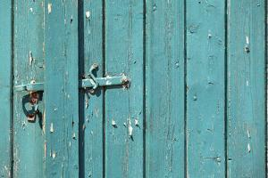 Farm, Barn Goal, Weather-Beaten Wood, Close-Up, Detail by Catharina Lux