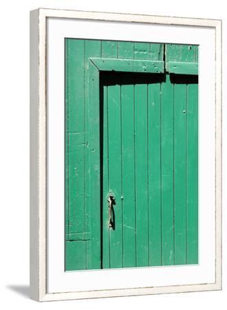 Farm, Green Barn Door, Detail