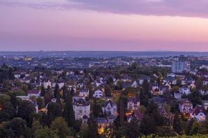Germany, Wiesbaden, View from the Neroberg by Catharina Lux
