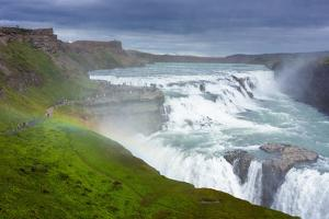 Gullfoss - Golden Waterfall by Catharina Lux