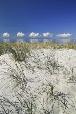 Lithuania, Curonian Spit, the Baltic Sea with Clouds by Catharina Lux