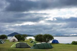 Myvatn, Camping Site by Catharina Lux