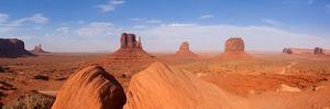 Panorama, USA, Monument Valley by Catharina Lux