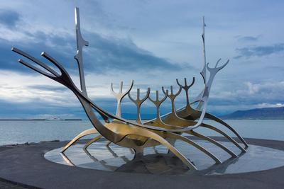 Reykjavik, Sculpture, Viking Ship