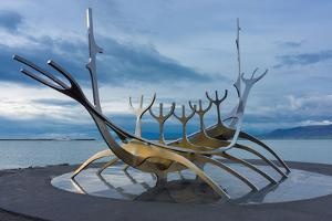 Reykjavik, Sculpture, Viking Ship by Catharina Lux