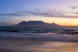 South Africa, Cape Town, Table Mountain During the Blue Hour by Catharina Lux