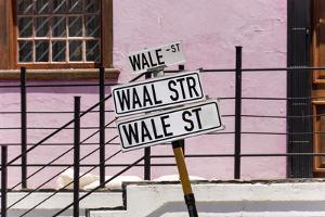South Africa, Cape Town, Varity of Street Signs by Catharina Lux