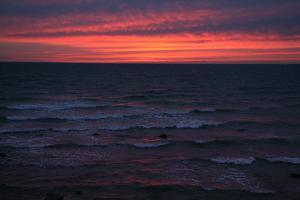 The Baltic Sea, RŸgen, Evening Mood by Catharina Lux