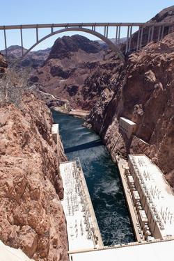 USA, Arizona and Nevada, Hoover Dam by Catharina Lux