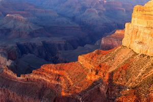 USA, Grand Canyon National Park, Sunset by Catharina Lux