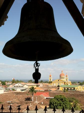 Cathedral from La Merced Belltower, Granada, Nicaragua, Central America