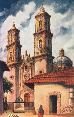 Cathedral in Taxco, Mexico