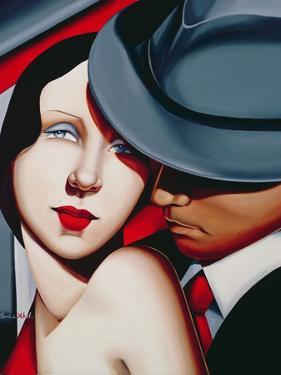 Adam and Eve, Gangster Study by Catherine Abel
