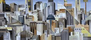 Composition Looking East, 2004 by Catherine Abel