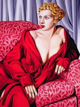 Red Kimono, 2001 by Catherine Abel