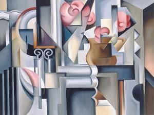 Still Life with Brown Jug by Catherine Abel