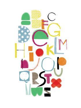 Alphabet by Catherine Aguilar