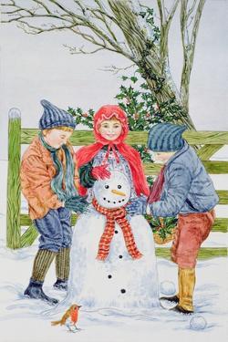 Building a Snowman by Catherine Bradbury