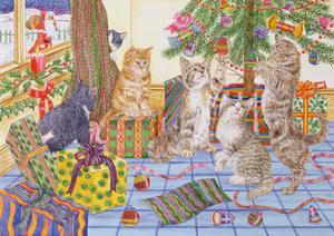 The Cats' Christmas by Catherine Bradbury