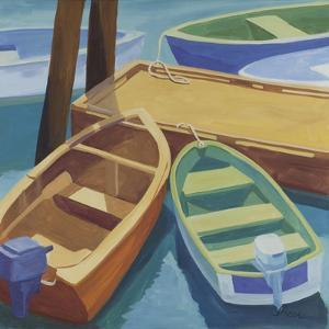 Boats at the Dock by Catherine Breer