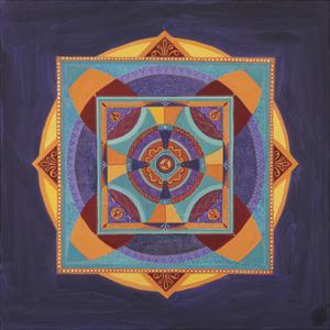 Centered Mandala by Catherine Breer