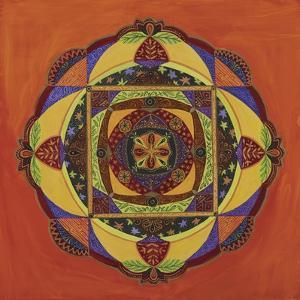 Compassion Mandala by Catherine Breer