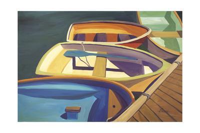 Four Rowboats