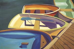 Four Rowboats by Catherine Breer