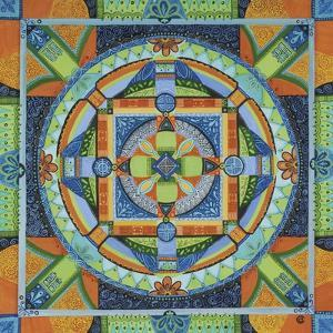 Happiness Mandala by Catherine Breer