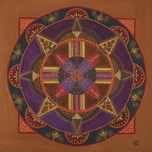Heart and Soul Mandala by Catherine Breer