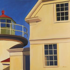 Heron Neck Light by Catherine Breer