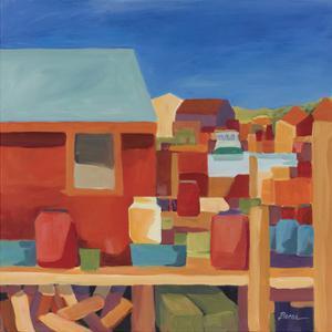 Menemsha Docks by Catherine Breer