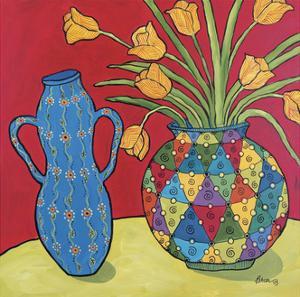 Two Vases by Catherine Breer