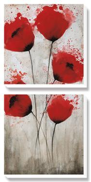 Luminous Crimson I by Catherine Brink
