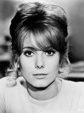 "Catherine Deneuve. ""Beds And Broads"" 1962, ""Les Parisiennes"""