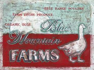 Blue Mountain Farms by Catherine Jones