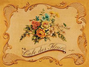 Cafe des Fleurs by Catherine Jones