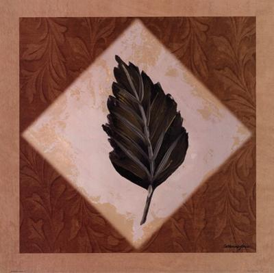 Diamond Leaves IV by Catherine Jones