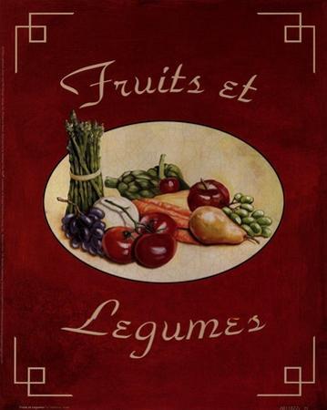 Fruits Et Legumes by Catherine Jones
