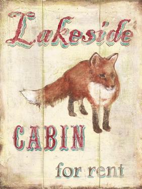 Lakeside Cabin by Catherine Jones