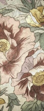 Earthtone Floral Panel I