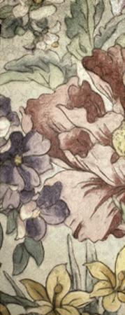 Earthtone Floral Panel II